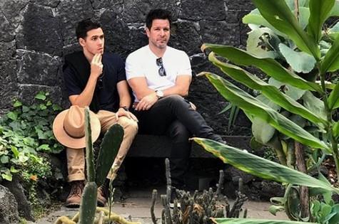Antonio e o pai, Murilo (Foto: Reprodução/ Instagram)