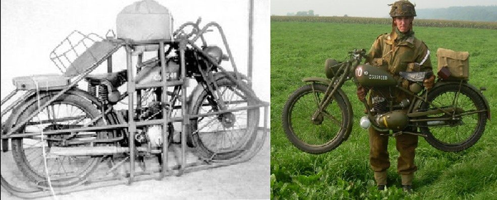 Flying Flea foi utilizada pelo exército britânico na 2ª Guerra Mundial (Foto: Royal Enfield/Divulgação)