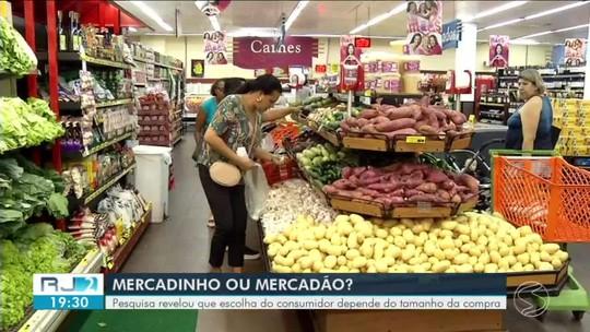 Supermercado: pesquisa revela que escolha do local depende da quantidade de itens na lista