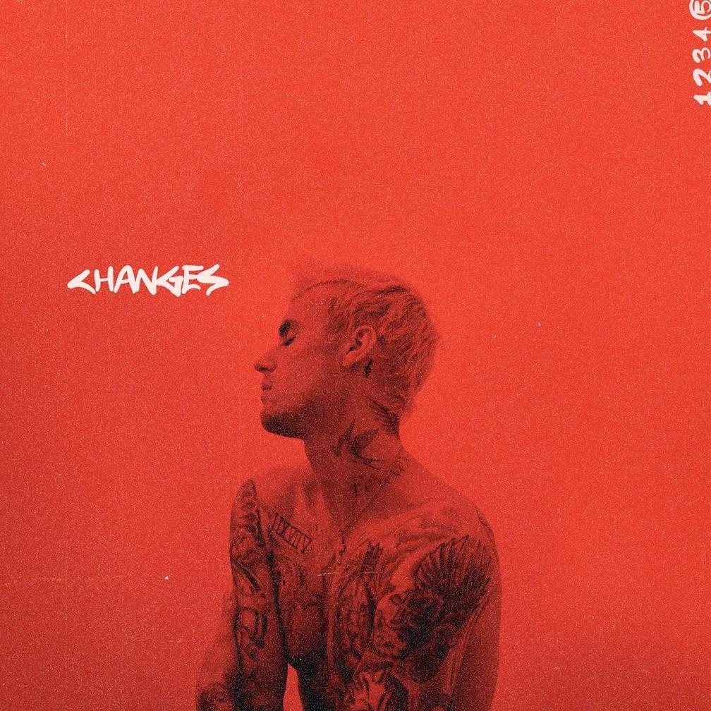 Capa de 'Changes', quinto álbum de Justin Bieber — Foto: Divulgação