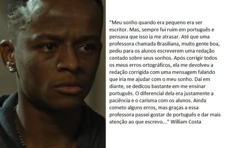 William Costa retorna na segunda temporada TV Globo