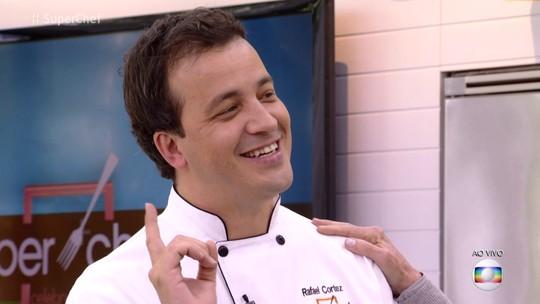 Rafael Cortez deixa o 'Super Chef Celebridades' na quarta eliminação