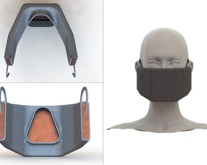 Engenheiros desenvolvem máscara aquecida para inativar novo coronavírus