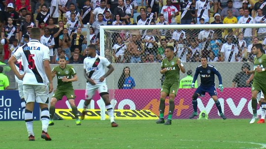 Entenda por que o Vasco saiu na frente, mas só empatou com o Coxa no Maracanã