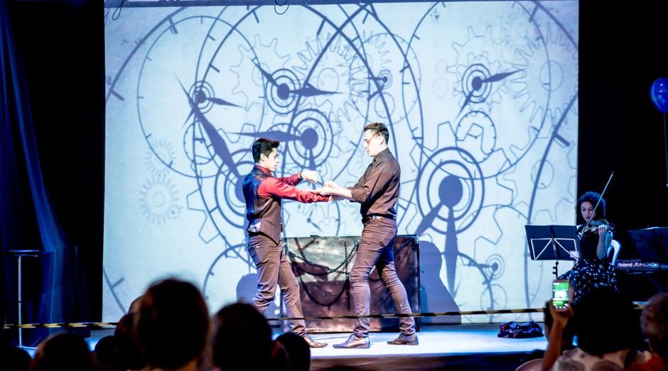 Klauss Duras e Henry Vargas, mágicos e empresários fundadores da Ilusion (Foto: Divulgação)