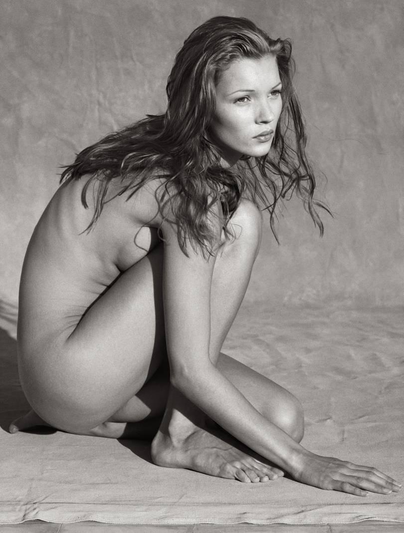 Kate Moss por Albert Watson (Foto: Divulgação)