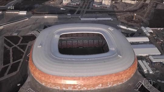Davai: Rússia inaugura novo estádio em Saransk para a Copa do Mundo