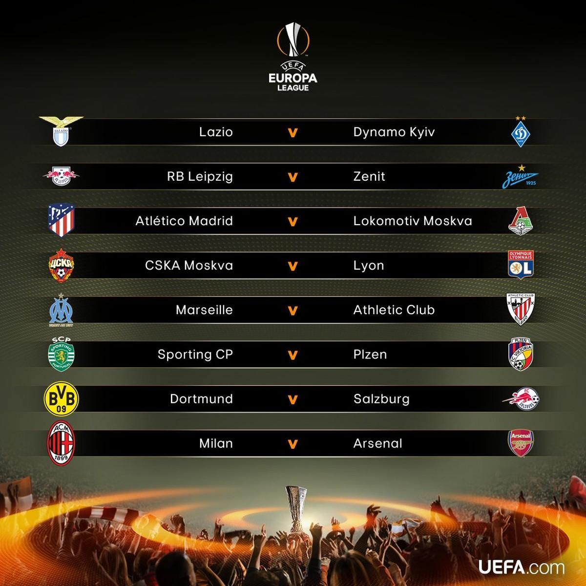 Liga europa jogos