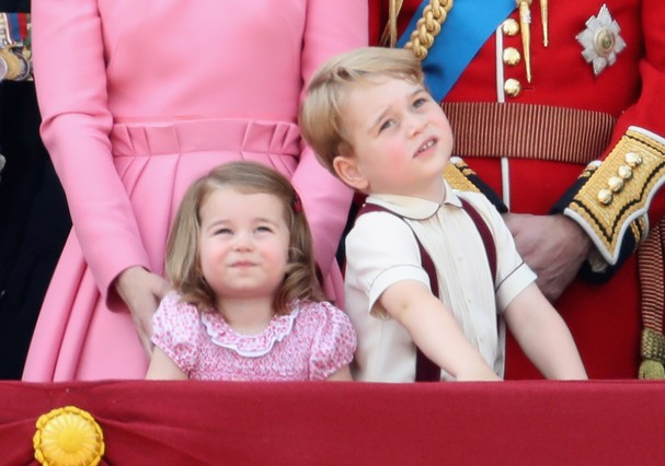 Princesa Charlotte e príncipe George (Foto: Getty Images/Chris Jackson)