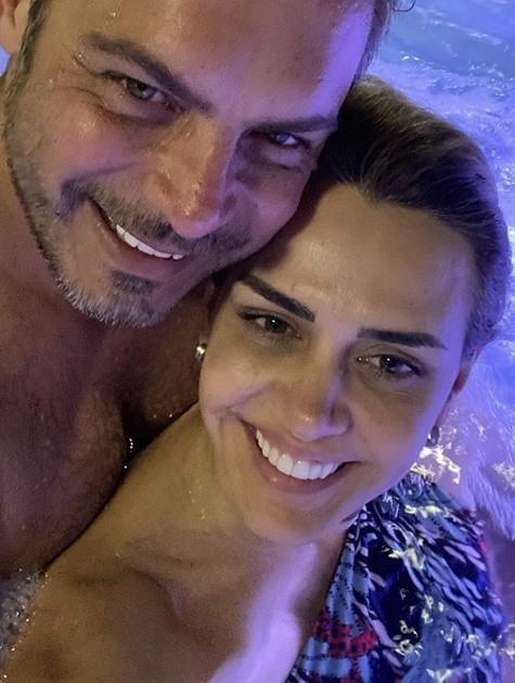 Luigi Barichelli e a mulher, Andreia   (Foto: Reprodução/ Instagram)