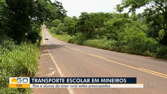 Polícia apura acidente que terminou na morte de estudante de 6 anos transportado em caminhonete, em Mineiros