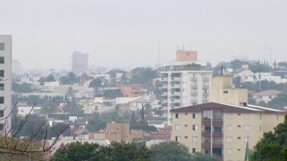 Sensação térmica no Triângulo Mineiro e Alto Paranaíba pode chegar a - 4 ° C — Foto: arquivo de TV Integração/Reprodução, imagem de 2017