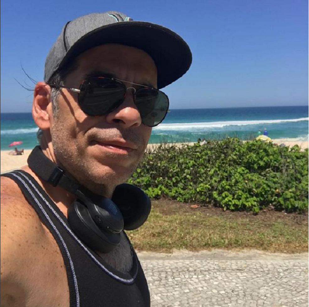 Mais magro, Hassum mostra rotina fitness nas redes sociais (Foto: Reprodução Instagram)