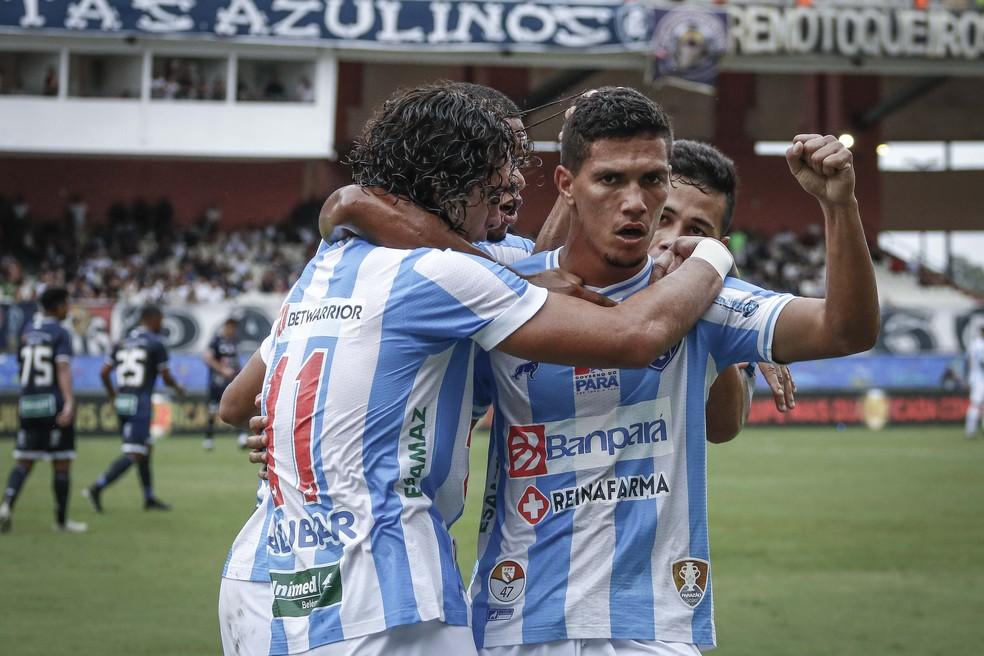 Papão está na ponta na classificação geral do Paraense — Foto: Jorge Luiz/Ascom Paysandu