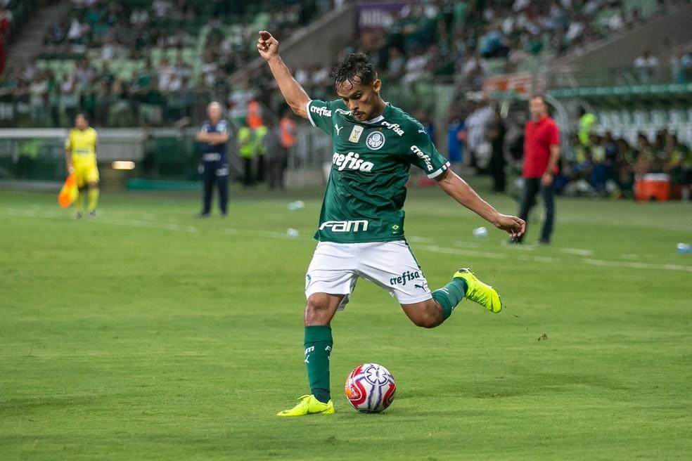 Gustavo Scarpa foi titular na partida passada, contra o Botafogo-SP — Foto: Marivaldo Oliveira/Estadão Conteúdo