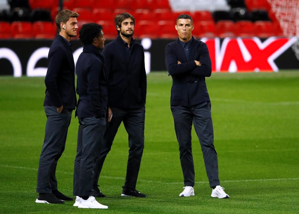 Cristiano Ronaldo atuará no Old Trafford novamente nesta terça — Foto: Reuters