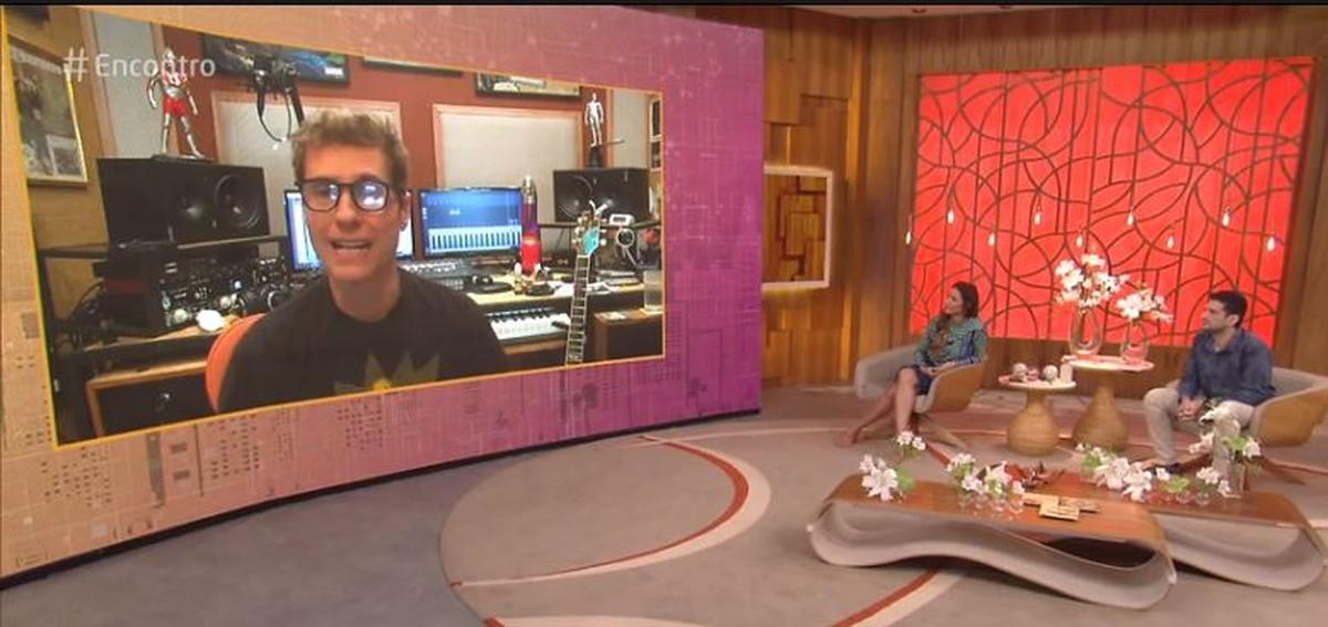 Dinho Ouro Preto diz que precisou de sessões de fono para recuperar a voz após Covid-19 | Pop & Arte