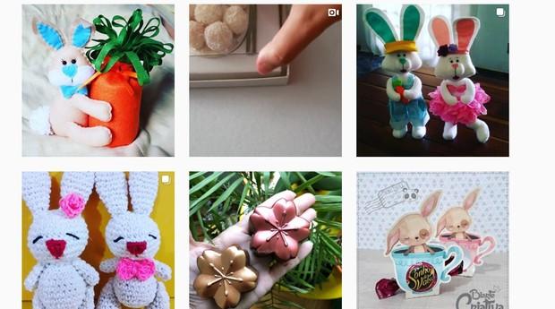Busca por #pascoa2019 no Instagram pode render boas ideias (Foto: Reprodução)