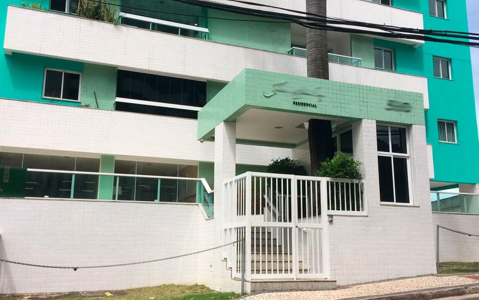 Prédio onde fica apartamento supostamente usado por Geddel é situado no bairro da Graça, em Salvador (Foto: Alan Oliveira/G1)