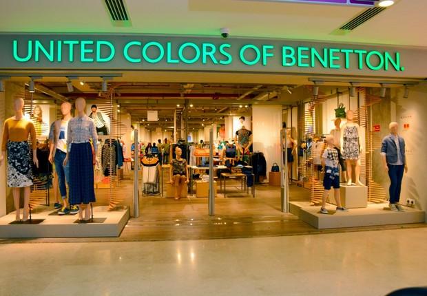 Loja da Benetton na Índia (Foto: Divulgação/Benetton Group)