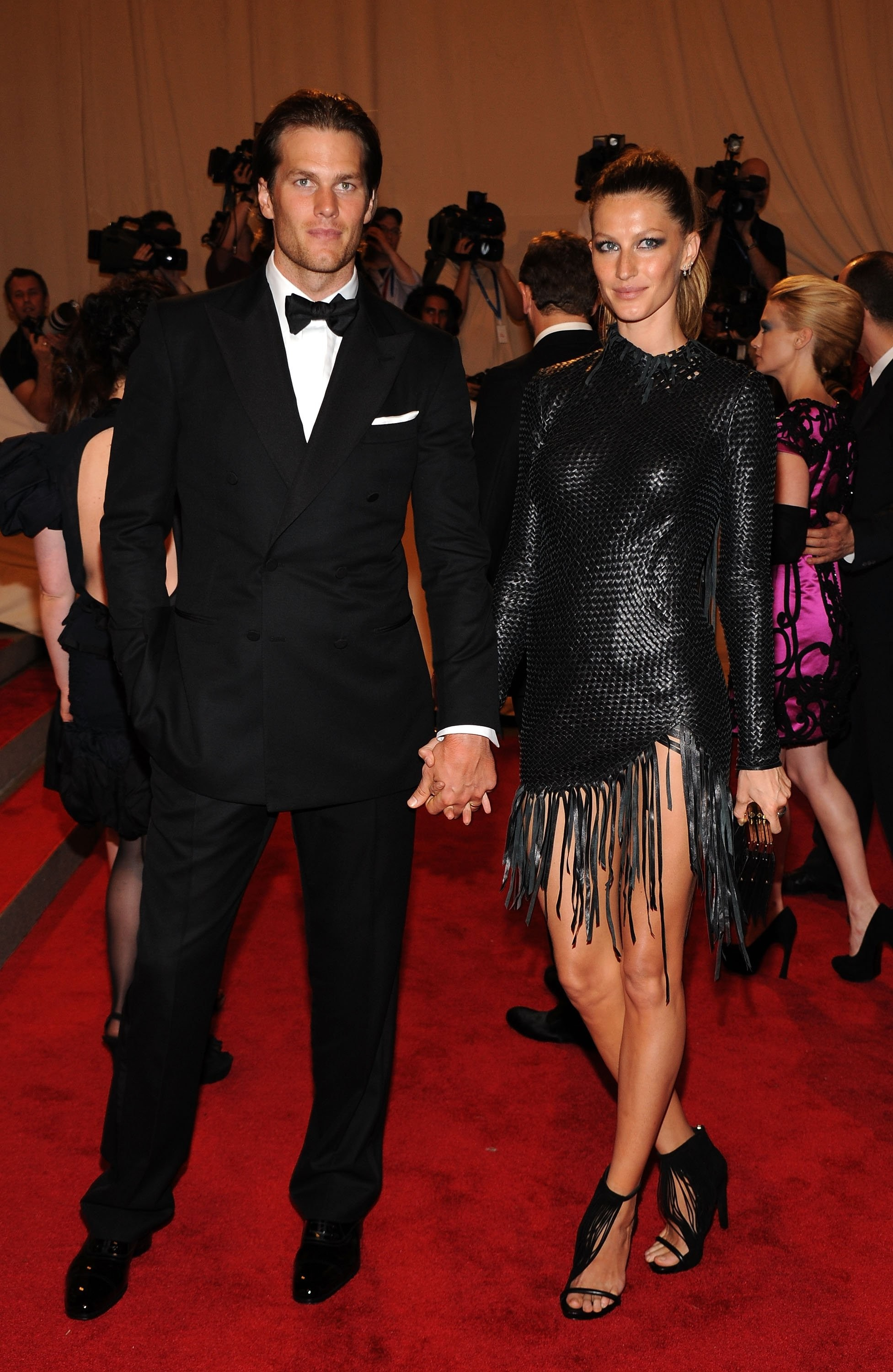 Gisele Bundchen, de Alexander Wang, no Baile do Met de 2010 (Foto: Getty Images)
