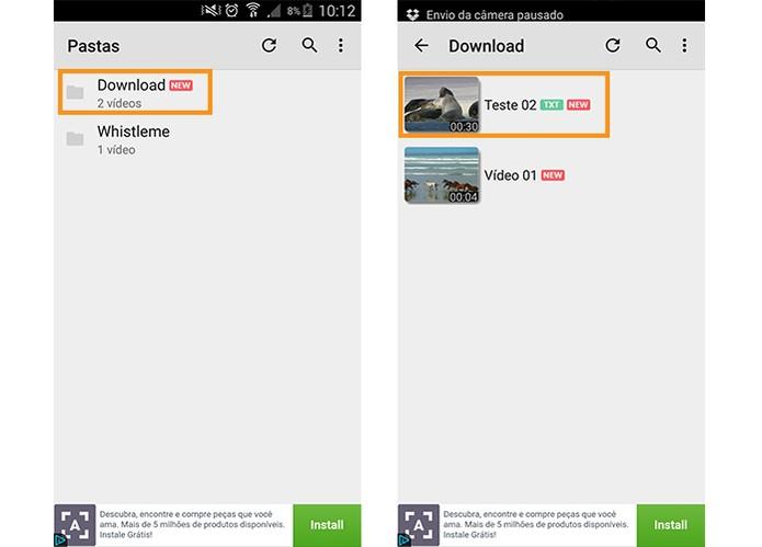 Abra o vídeo pelo MX Player no Android (Foto: Reprodução/Barbara Mannara)