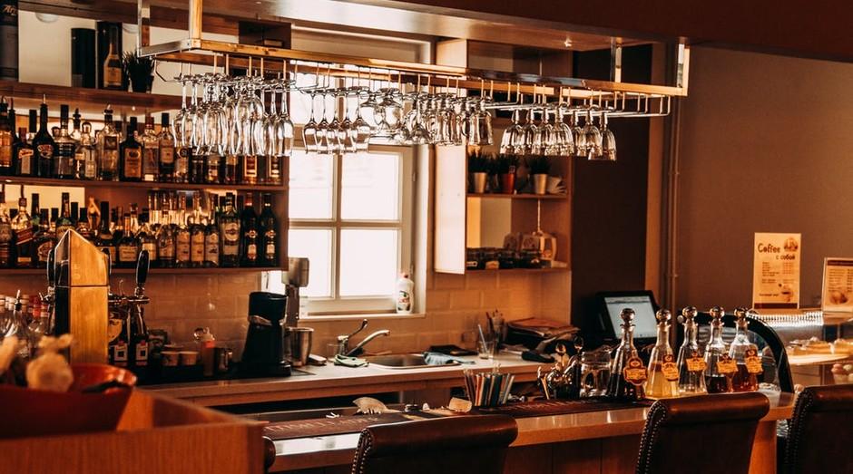 Bar, restaurante, boteco, bebida (Foto: Reprodução/Pexel)