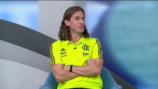 Filipe Luís diz que se encaixa no DNA do Flamengo, elogia Jesus e vê Reinier parecido com Kaká