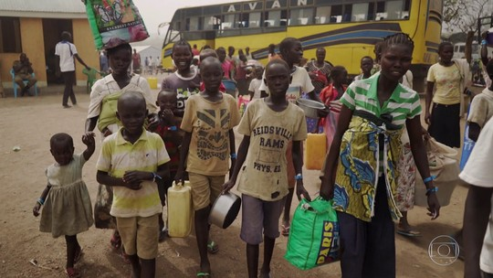 Unicef diz que guerra no Sudão do Sul deixou mais de um milhão de menores refugiados