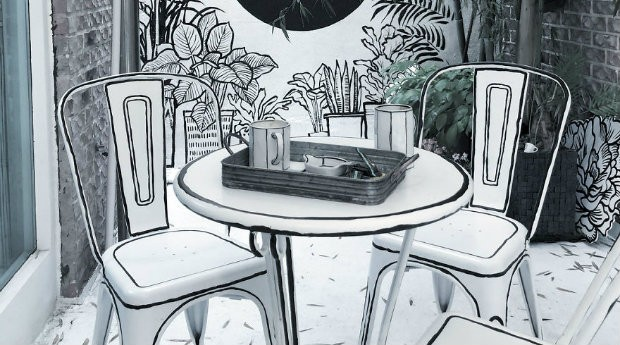 The Unusual Café é um deleite para os fãs de desenhos animados (Foto: Divulgação)