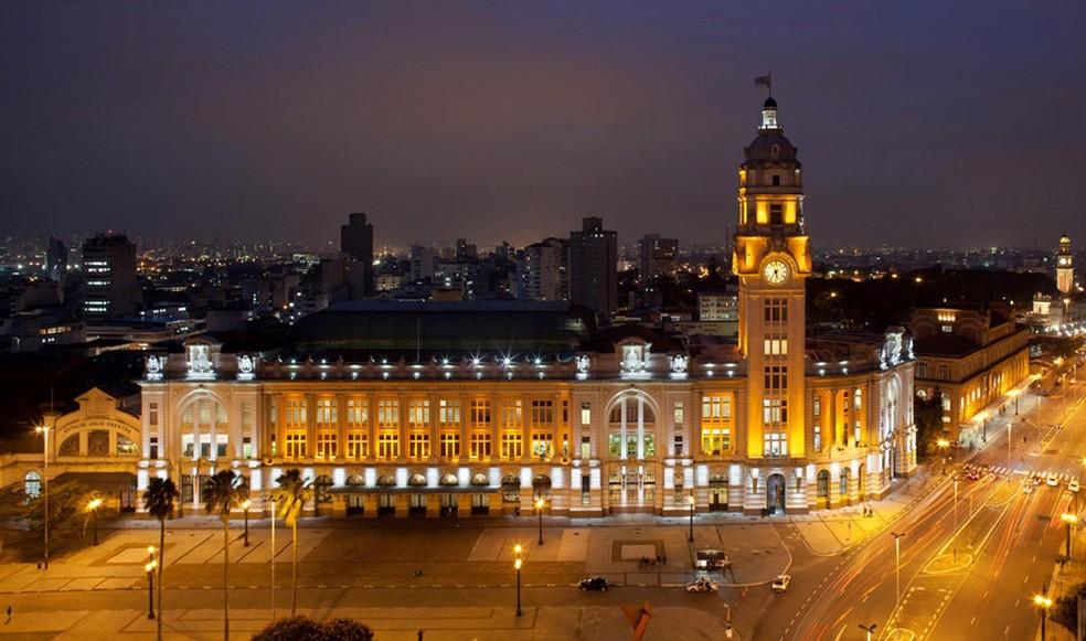 Prédio da Sala São Paulo, que também abriga a estação ferroviária, no centro de São Paulo. Foto:Divulgação.