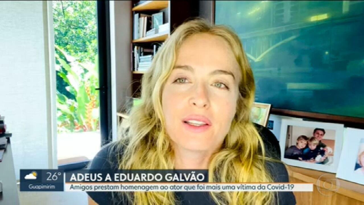Amigos prestam homenagens a Eduardo Galvão