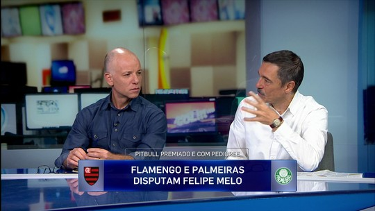 Comentaristas analisam desejo do Flamengo de tirar Felipe Melo do Palmeiras