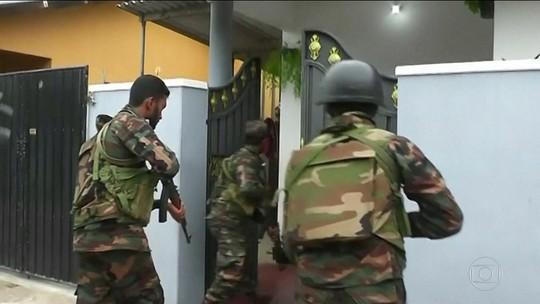 Ação das forças de segurança do Sri Lanka termina com 16 mortos