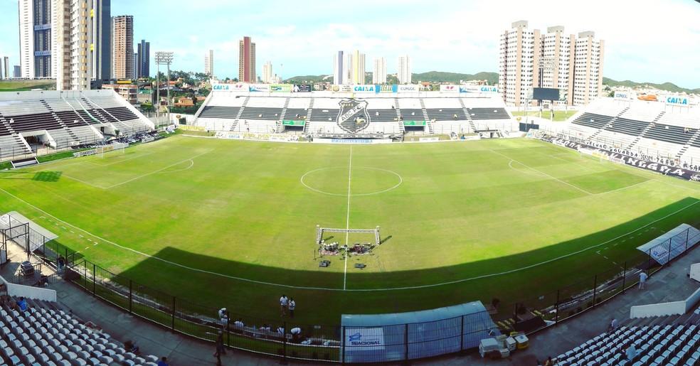 Estádio Frasqueirão vai receber todos os jogos do Campeonato Potiguar de Futebol Feminino (Foto: Andrei Torres/ABC)