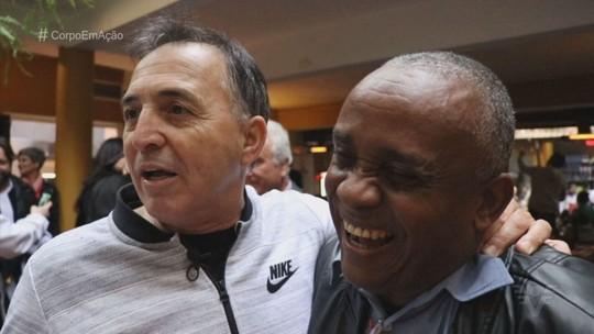 Ex-jogadores da histórica geração de 1978 do Santos se reencontram em São Paulo