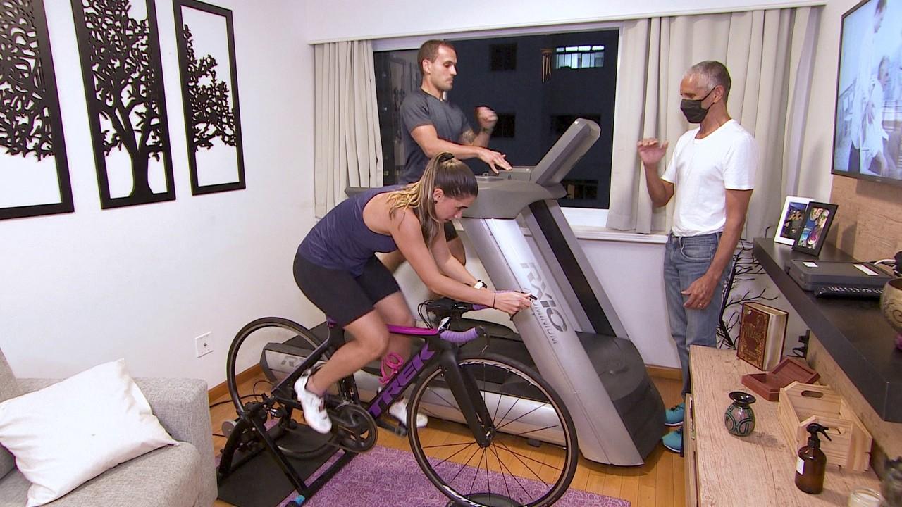 Aluguel de equipamentos de ginástica aumenta durante isolamento social