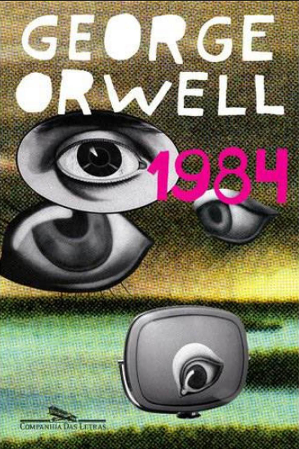 '1984', romance de George Orwell — Foto: Reprodução