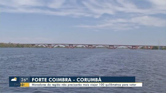 Moradores de região no Pantanal de MS não precisarão mais viajar 100 km para votar