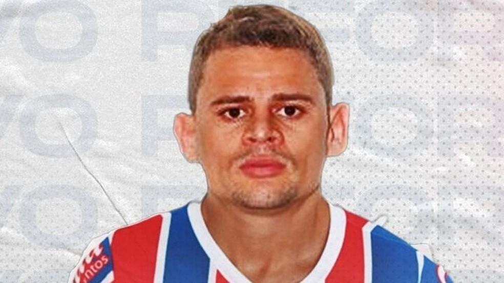 Volante Jonas é anunciado como reforço do Bahia — Foto: Divulgação/EC Bahia