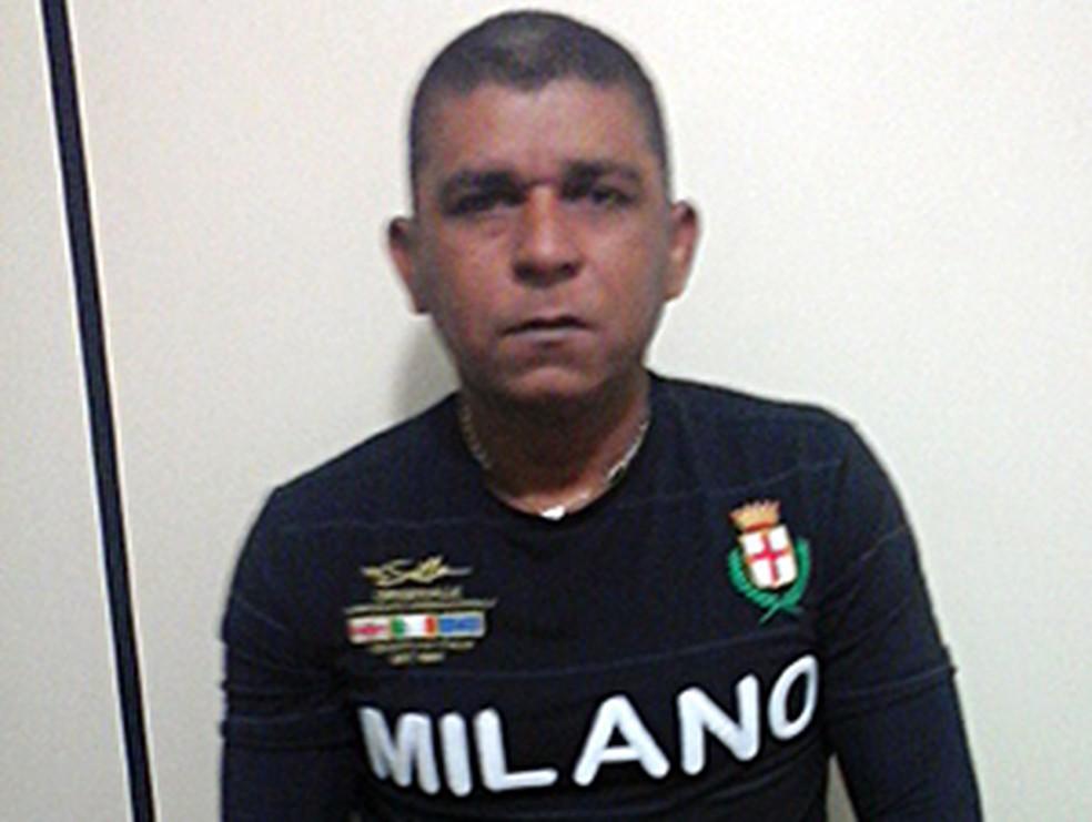 Cléber Venâncio é o principal suspeito de matar o taxista Alan Kardec — Foto: Divulgação/SSP-TO