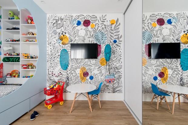 12 ideias de como usar grafite na decoração (Foto: Julia Herman)