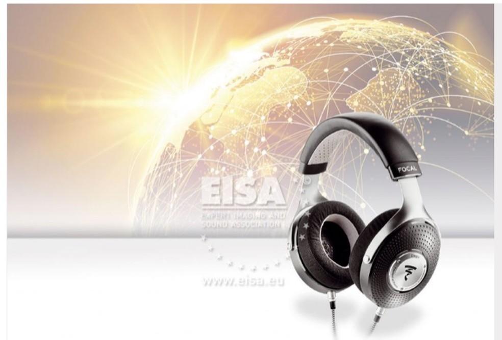 O fone de ouvido Focal Elegia foi eleito o melhor modelo do mercado — Foto: Divulgação/EISA