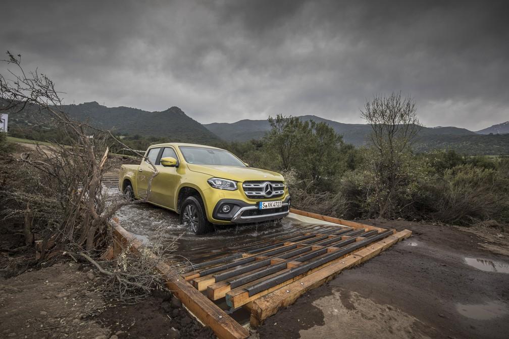Mercedes-Benz Classe X 250 (Foto: Divulgação)