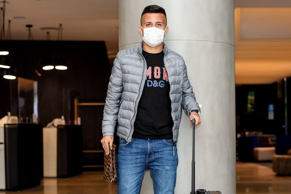 Matheus Henrique, do Grêmio, pode estar de saída para o Sassuolo — Foto: Marco Galvão CBF