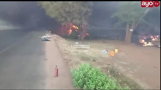 Explosão de caminhão de combustível na Tanzânia deixa 57 mortos