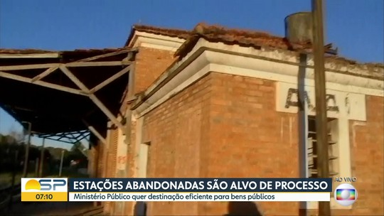 MPF move ação por abandono de estações ferroviárias no Centro-Oeste Paulista