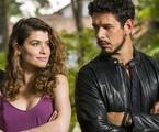 'Espelho da vida': Isabel (Alinne Moraes) e Alain (João Vicente de Castro) | Globo/João Miguel Júnior