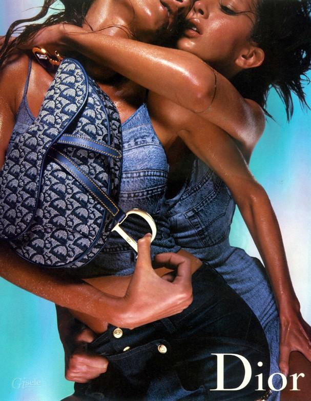Campanha da Dior com a bolsa Saddle (Foto: Reprodução)