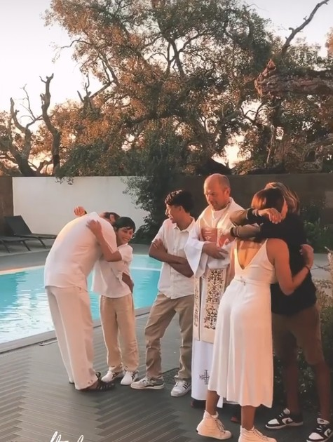 Marcello Antony com a família (Foto: Reprodução de Instagram)